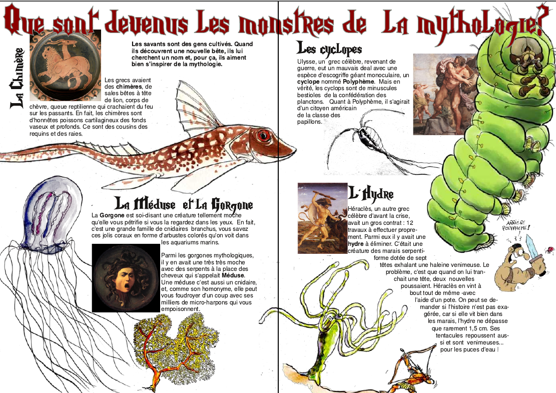 mythes et monstres